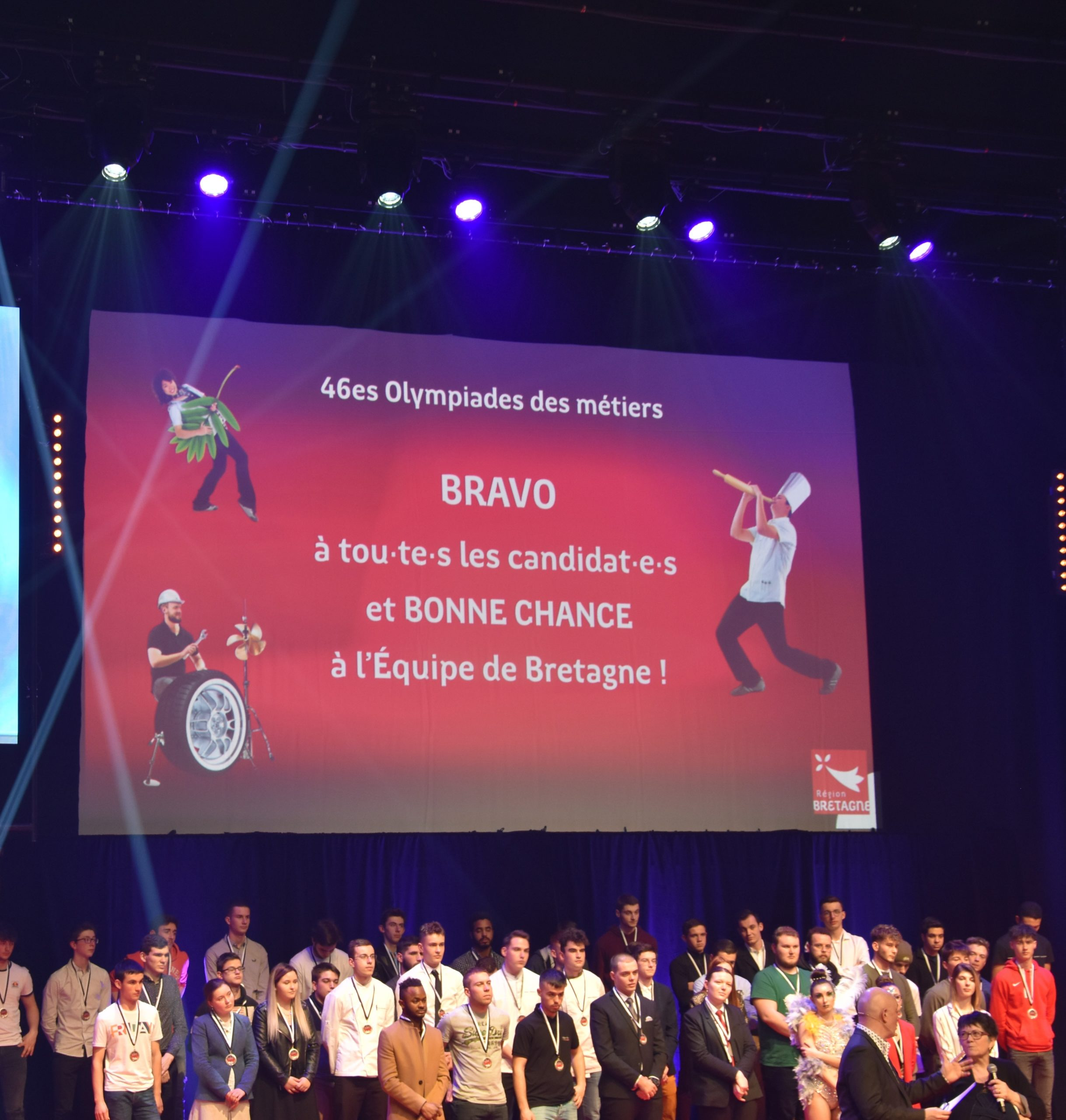BRETAGNE : 46 èmes OLYMPIADES DES  MÉTIERS